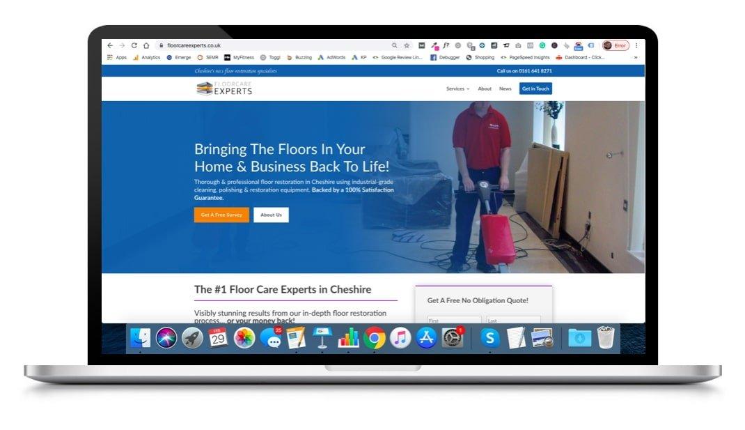 website design by emerge online
